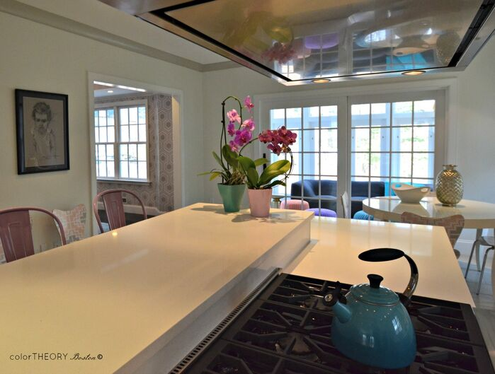 Contemporary Kitchen photo by colorTHEORY Boston