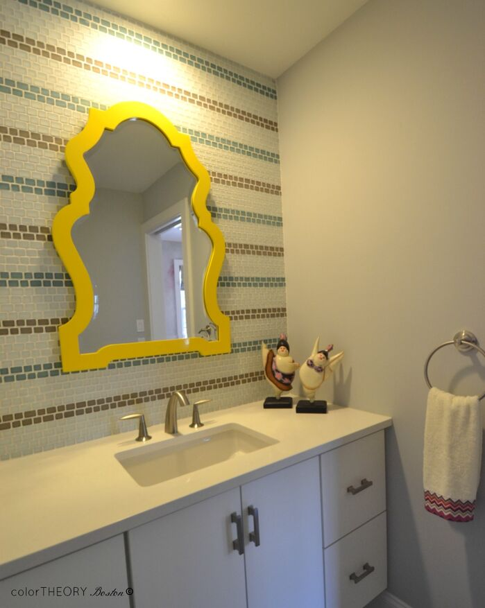 Eclectic Bathroom photo by colorTHEORY Boston