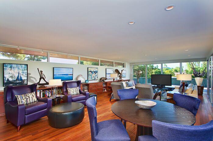 Modern Dining Room photo by Elle Interiors AZ