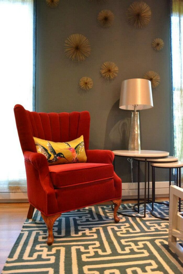 Eclectic Living Room photo by colorTHEORY Boston