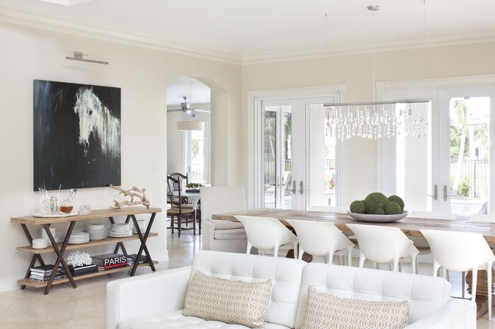 Contemporary Dining Room photo by Krista Watterworth Design Studio