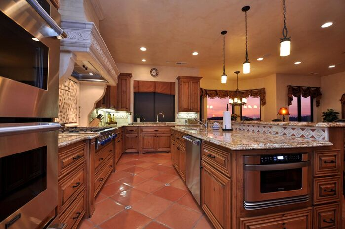 Traditional Kitchen photo by Deborah Costa Design