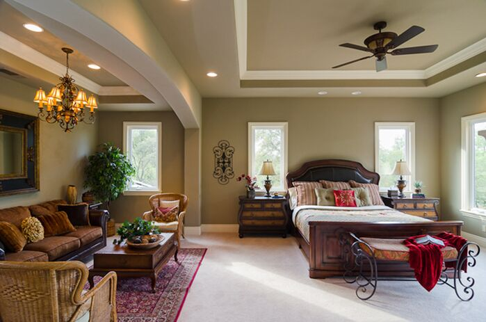 Traditional Bedroom photo by Deborah Costa Design