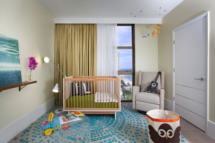 Modern Nursery photo by DKOR Interiors