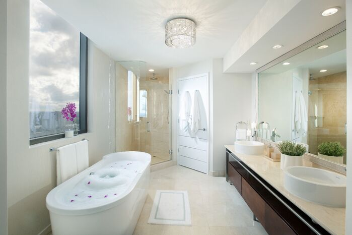 Modern Bathroom photo by DKOR Interiors