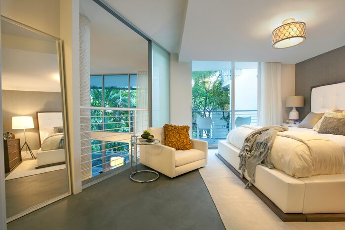 Modern Bedroom photo by DKOR Interiors