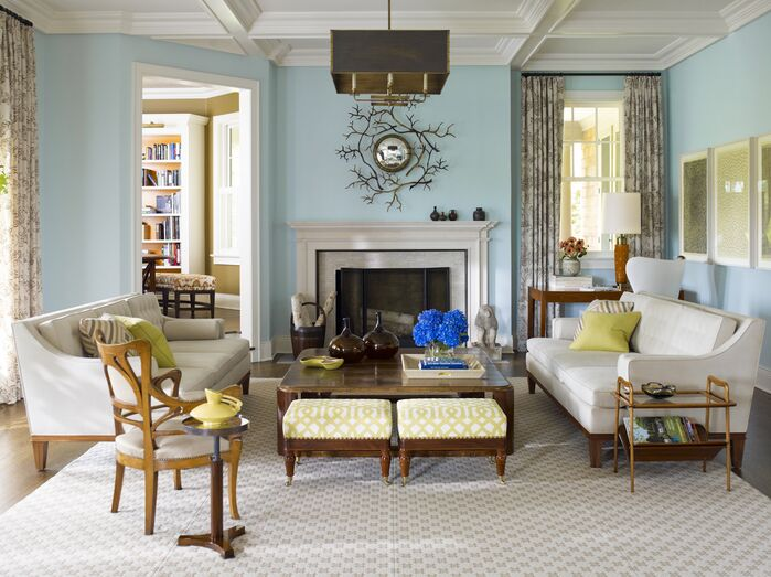 Eclectic Living Room photo by Mendelson Group