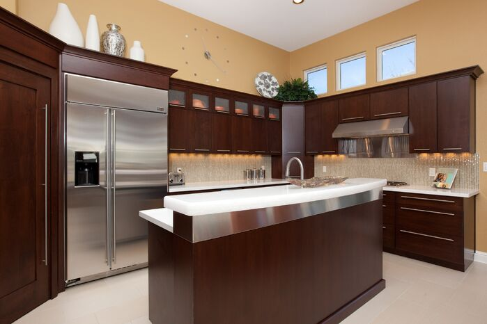 Contemporary Kitchen photo by Laura Lee Interiors, llc