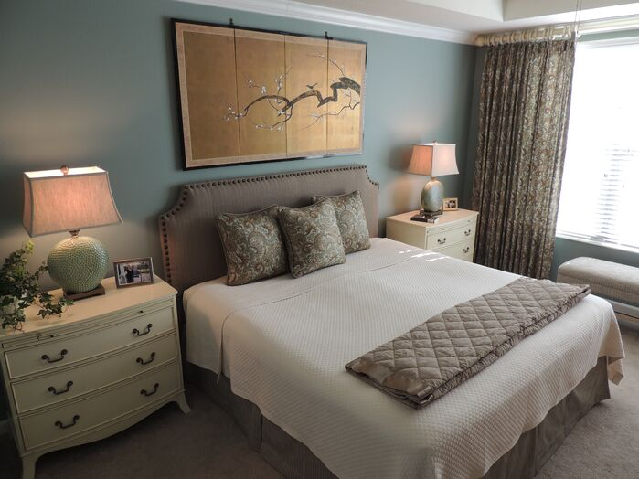 Contemporary Bedroom photo by Housedressings Interiors LLC.