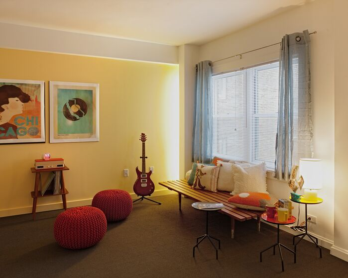Eclectic Game/Rec Room photo by Silliman Group