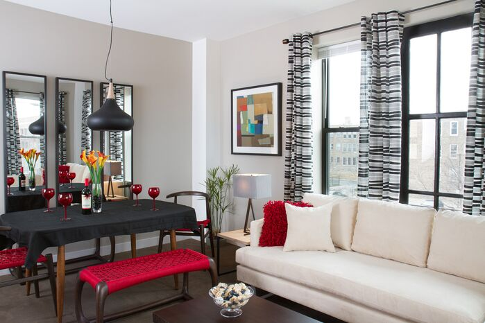 Modern Living Room photo by Silliman Group