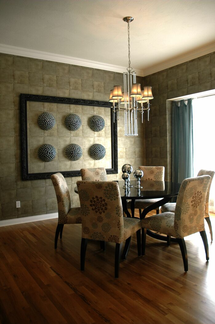 Contemporary Dining Room photo by Gina McMurtrey Interiors