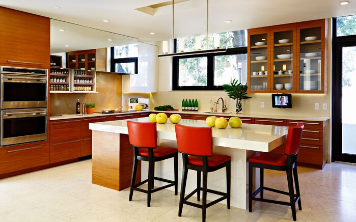 Contemporary Kitchen photo by Chancey Design