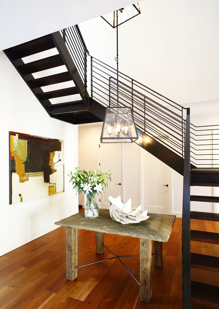 Contemporary Entryway and Hallway photo by Chancey Design
