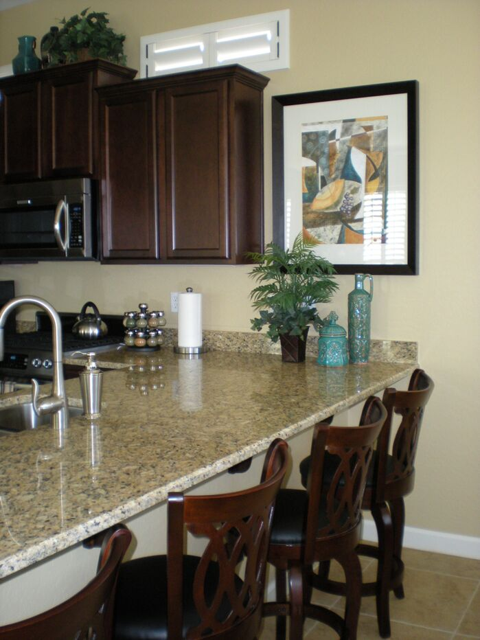 Traditional Kitchen photo by Center Stage Interiors