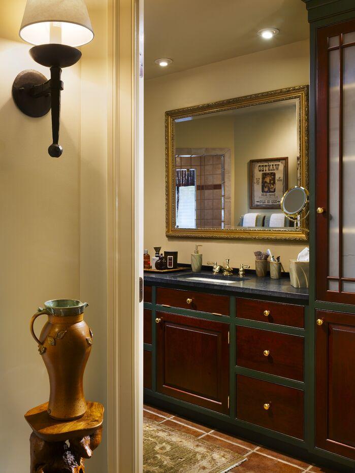 Rustic Bathroom photo by Joseph A Berkowitz Interiors