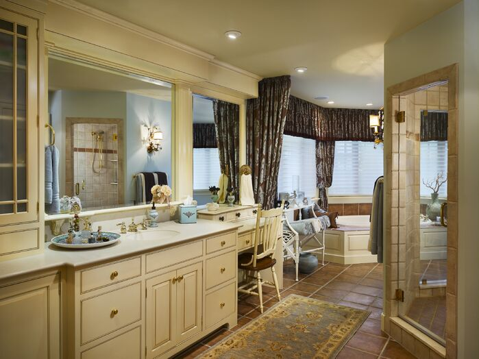 Traditional Bathroom photo by Joseph A Berkowitz Interiors