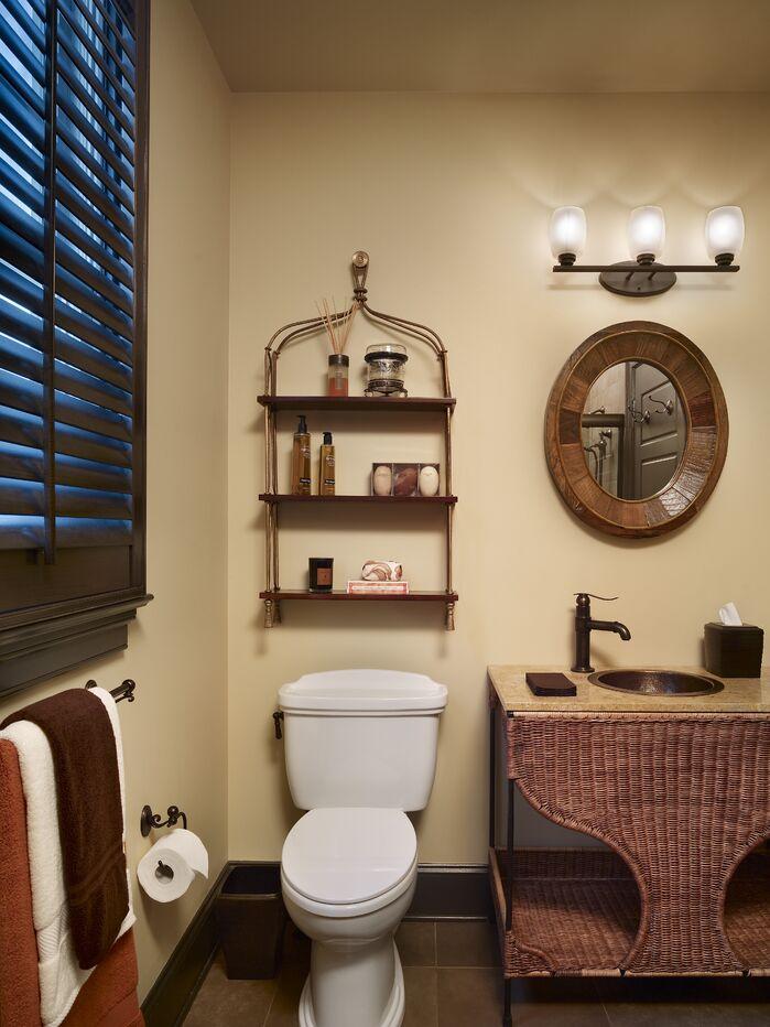 Coastal Bathroom photo by Joseph A Berkowitz Interiors