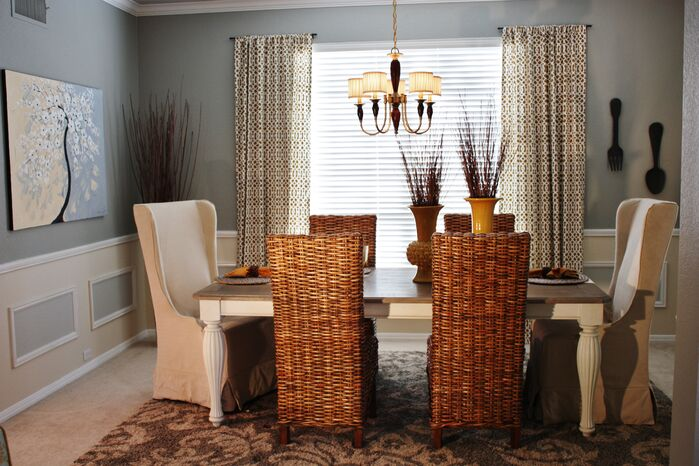 Eclectic Dining Room photo by Adentro Designs