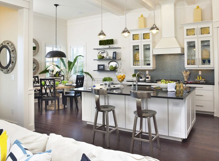 Eclectic Kitchen photo by Masterpiece Interiors, Inc.