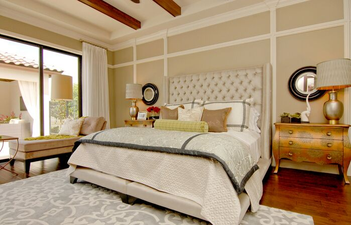 Eclectic Bedroom photo by Masterpiece Interiors, Inc.