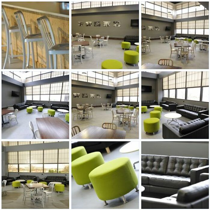 Modern Commercial photo by Asparagus Interiors