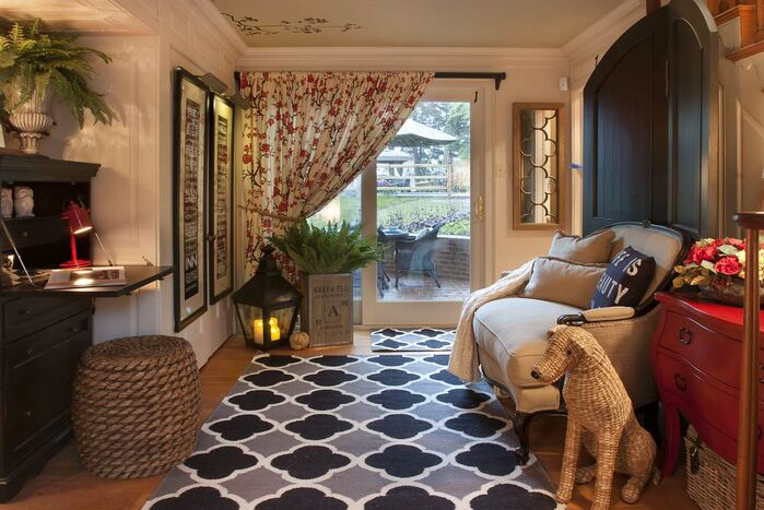 Eclectic Entryway and Hallway photo by Kelley Price Interiors