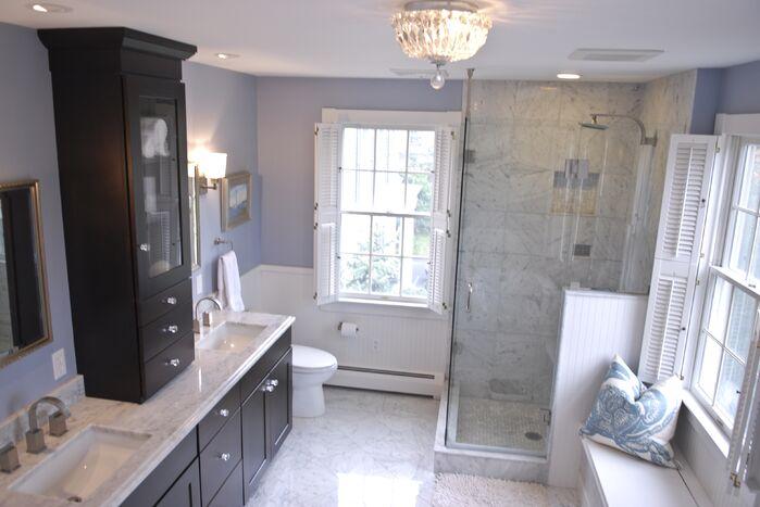 Contemporary Bathroom photo by Norton-O'Brien Design