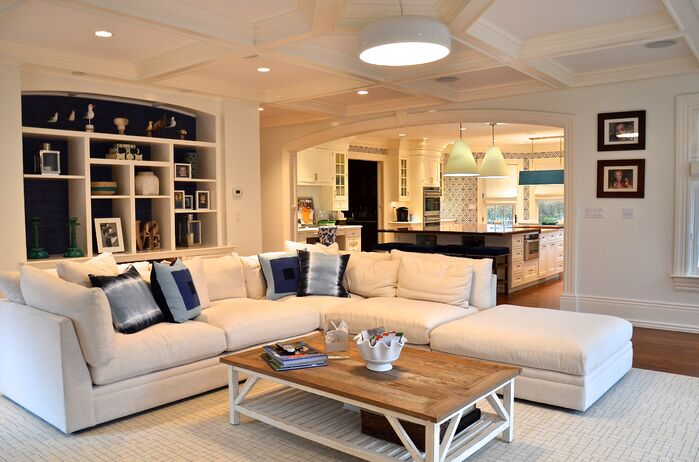 Coastal Living Room photo by D2 Interieurs