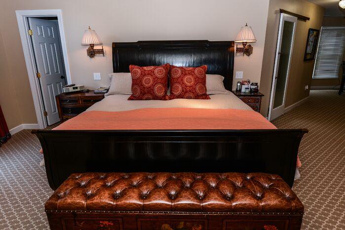 Eclectic Bedroom photo by Robin Hiken Interiors
