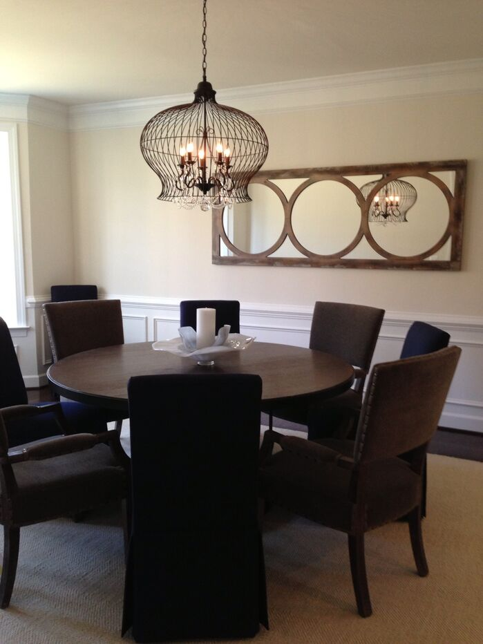 Eclectic Dining Room photo by Metamorphosis interiors