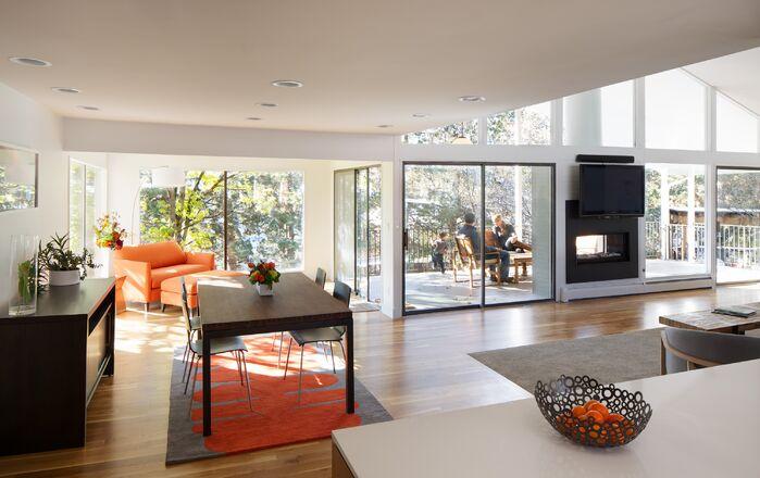 Modern Living Room photo by Design Platform LLC