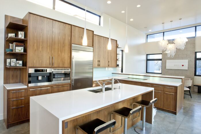 Modern Kitchen photo by Design Platform LLC
