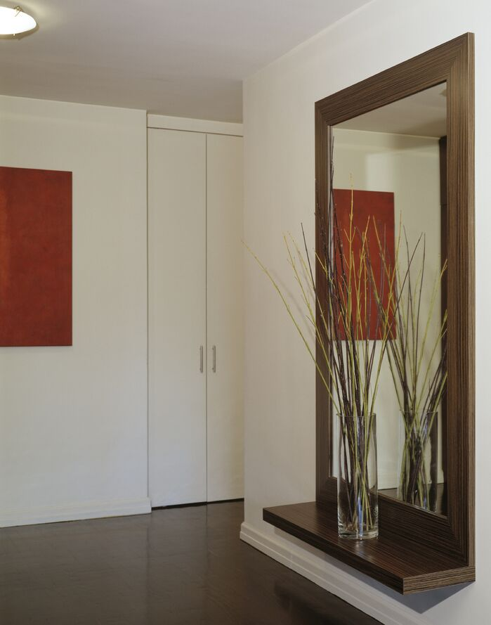 Contemporary Entryway and Hallway photo by Lisa Dubin Architect