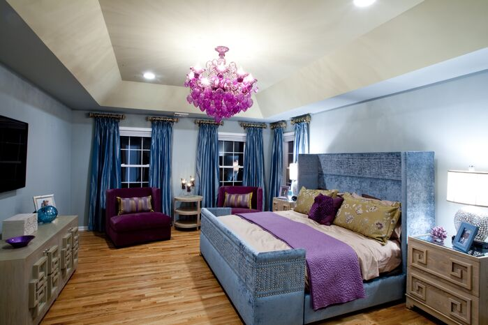 Glam Bedroom photo by FW Interiors