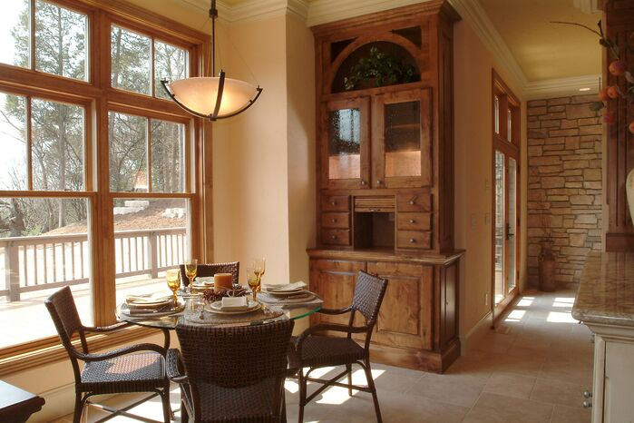 Rustic Dining Room photo by Ware Design Build