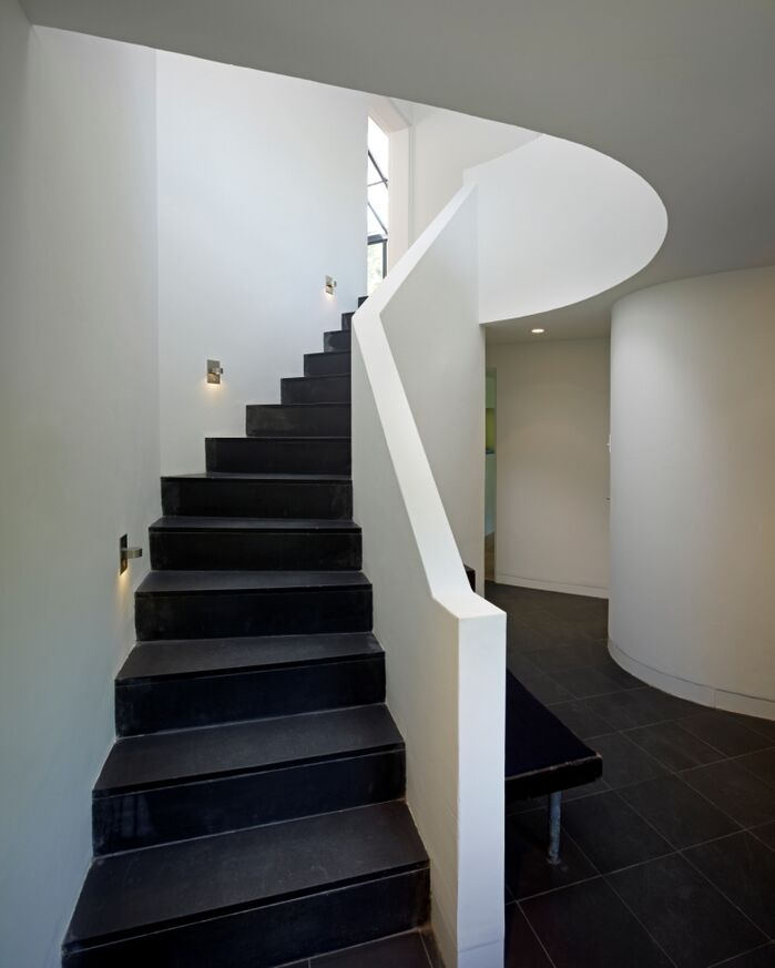 Modern Entryway and Hallway photo by Martin Rosenblum Architects