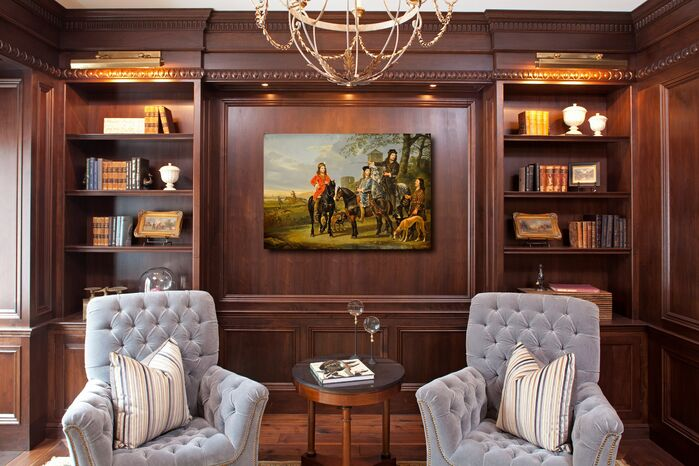 Traditional Home Office photo by Hendel Homes