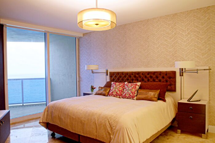 Contemporary Bedroom photo by Interiors by Maite