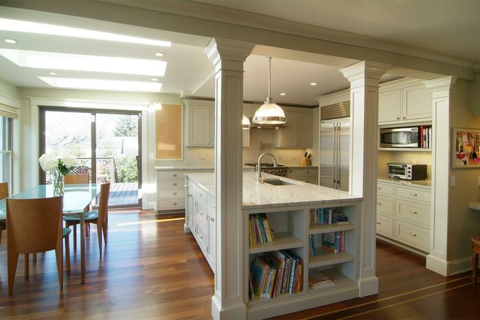 Contemporary Kitchen photo by Kaja Gam Designs