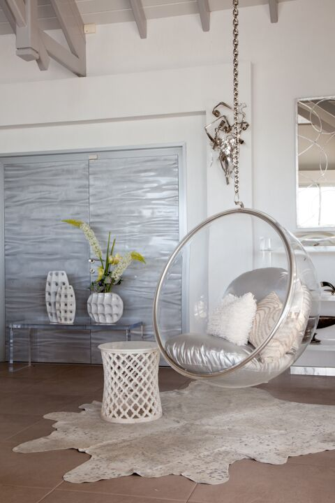 Glam Dining Room photo by FO Design
