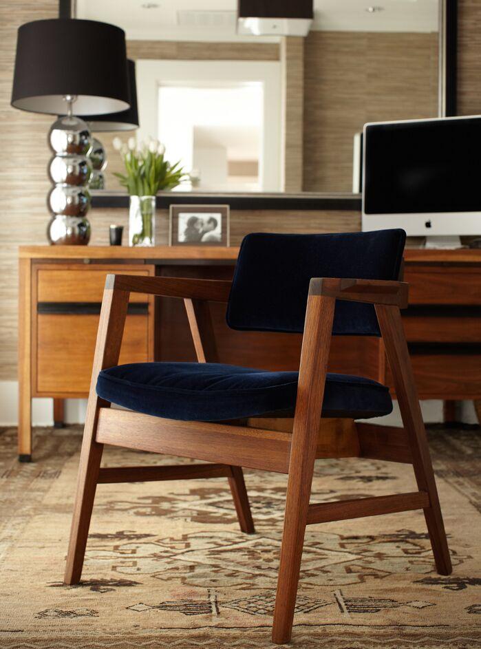 Scandinavian Home Office photo by Urrutia Design