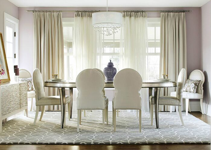 Glam Dining Room photo by KBW & Associates