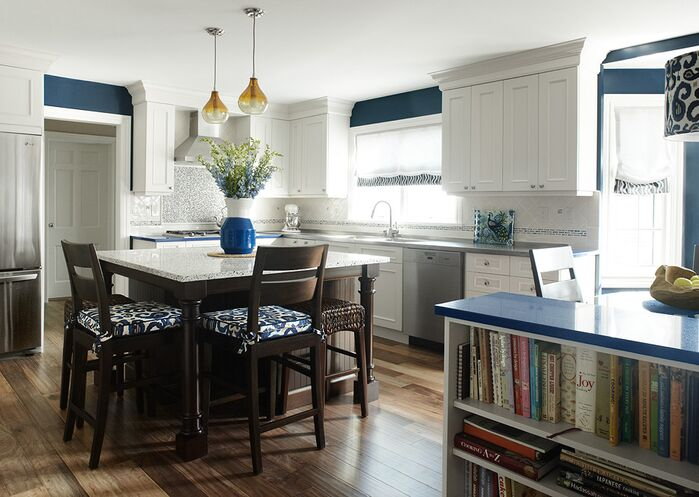 Coastal Kitchen photo by KBW & Associates
