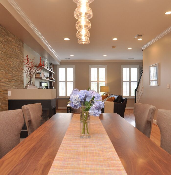 Contemporary Dining Room photo by J.Hodges + Associates