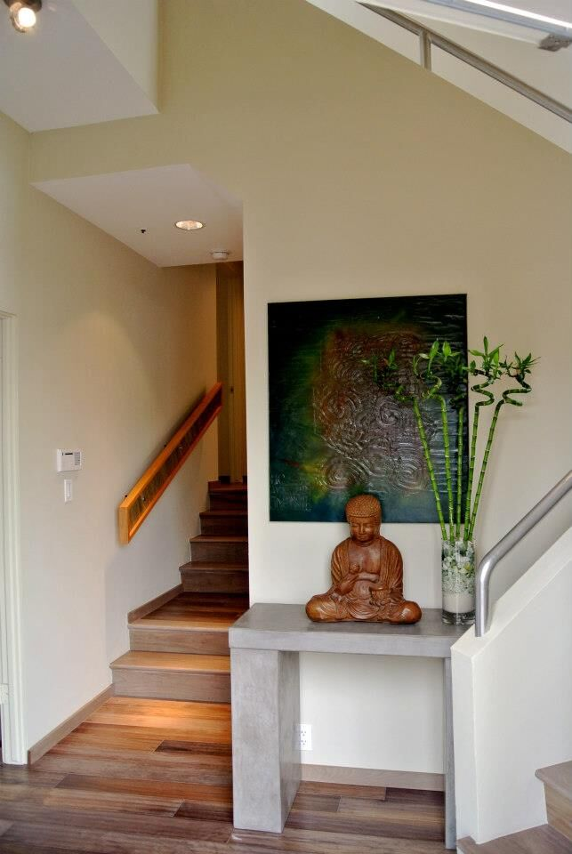 Modern Entryway and Hallway photo by Shryne Design