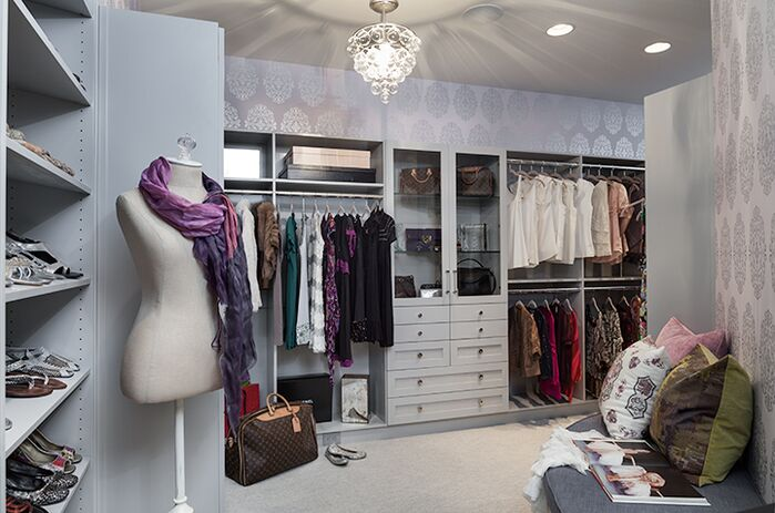 Contemporary Closet photo by Beckwith Interiors