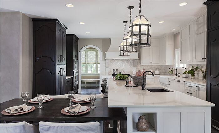 Contemporary Kitchen photo by Beckwith Interiors