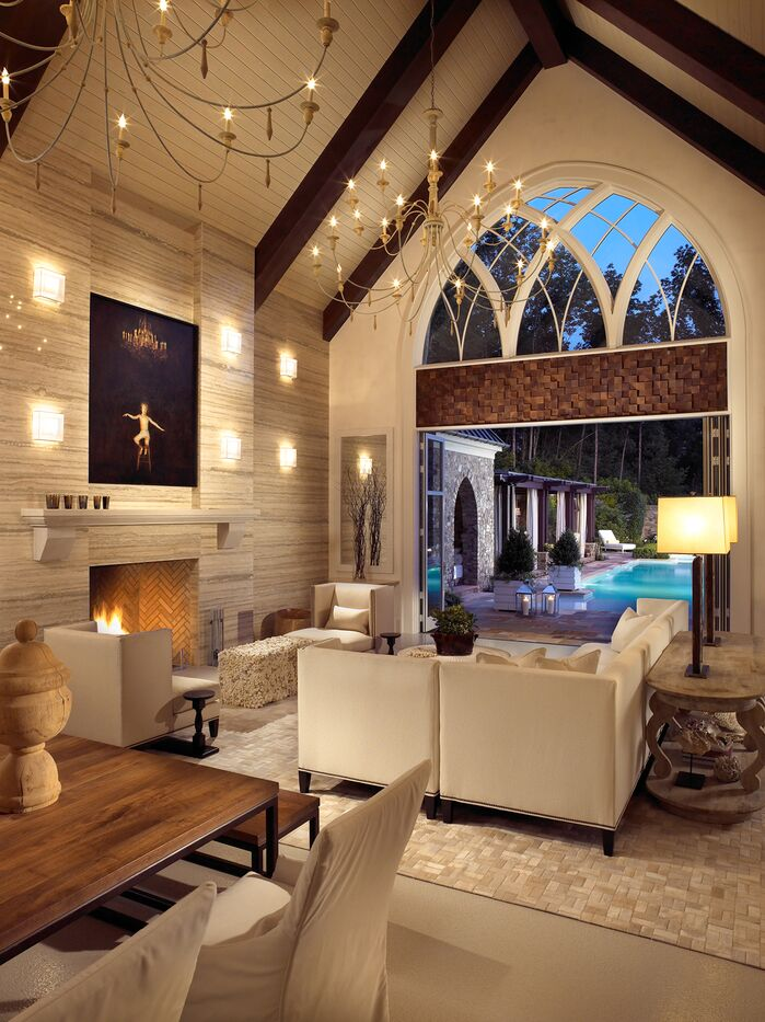 Contemporary Living Room photo by Beckwith Interiors