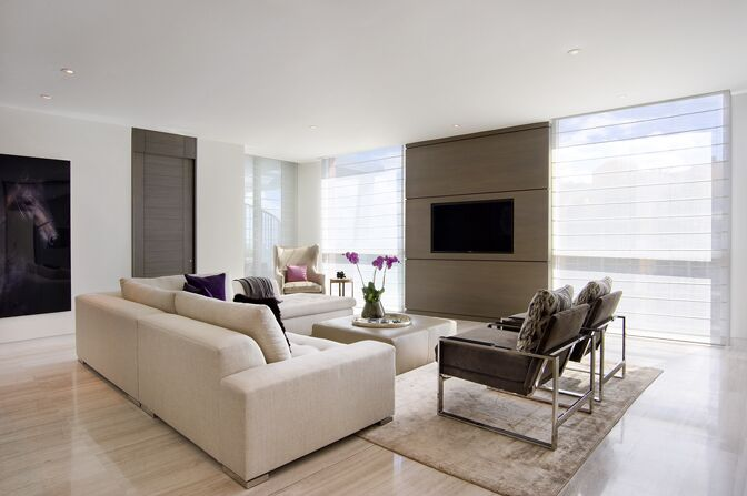 Modern Living Room photo by SOJO Design
